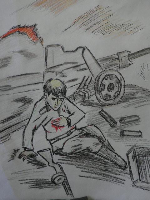 Открытки, картинки память о войне нарисованные