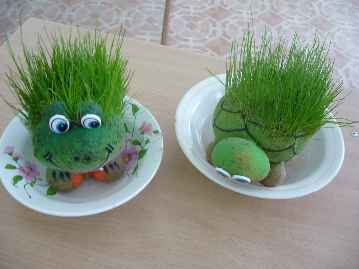 Травянчики своими руками фото