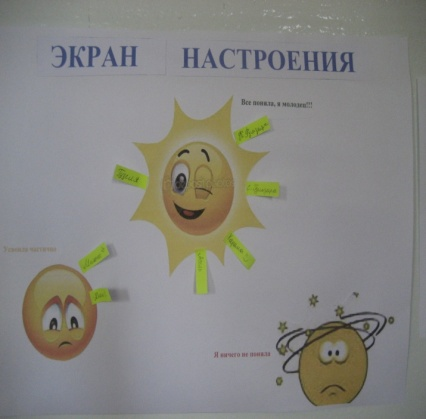 Картинки экрана настроения в лагере шаблоны педики