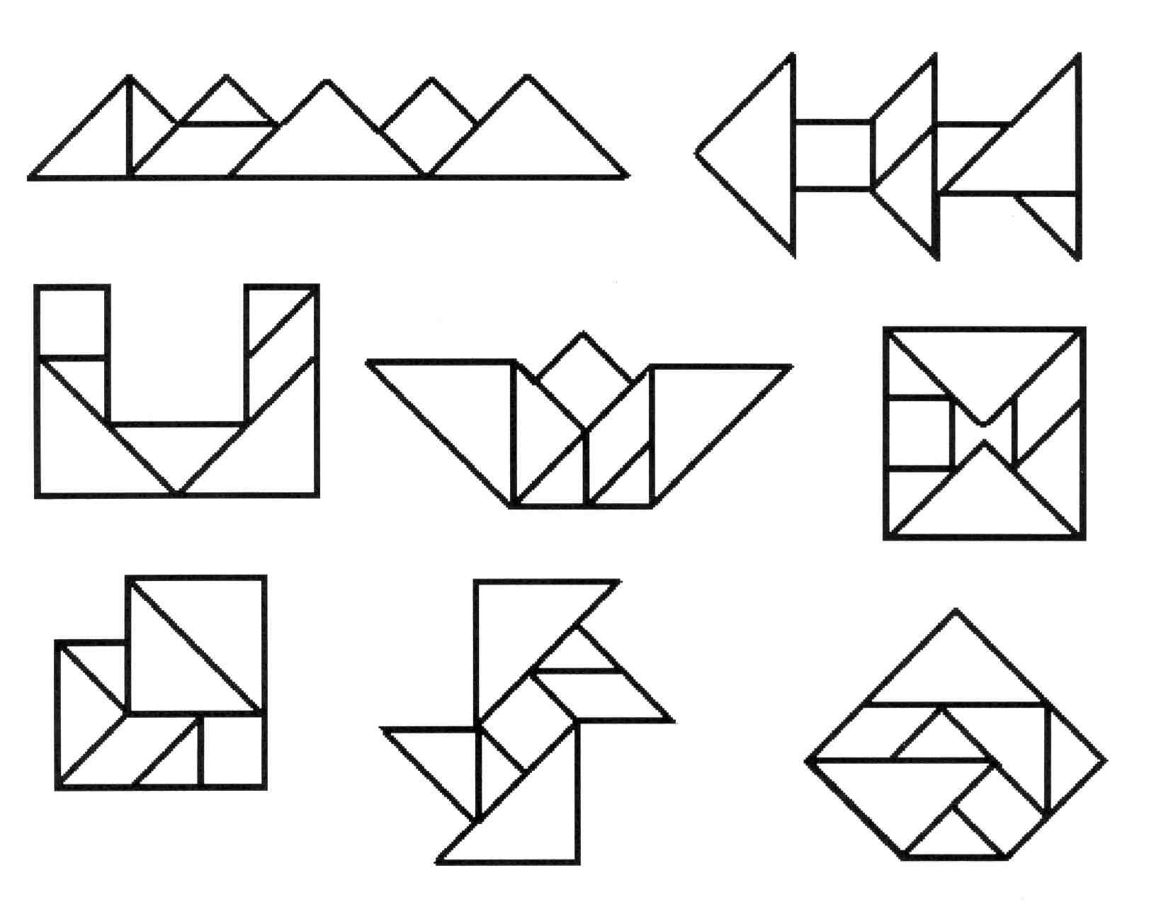 написал головоломки в картинках и схемах некоторых менее