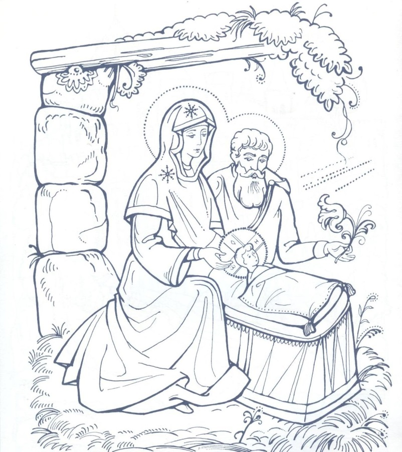 Как нарисовать открытку с рождеством христовым