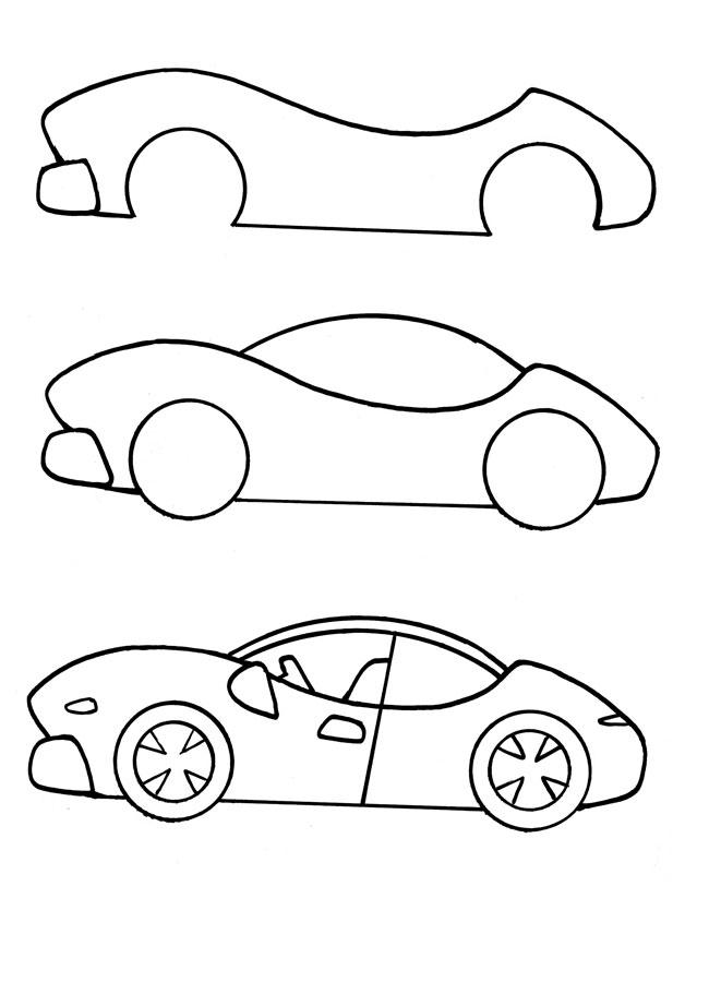 Учится рисовать картинки