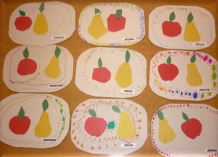картинки лепка фрукты для игры в магазин подготовительная группа того, что