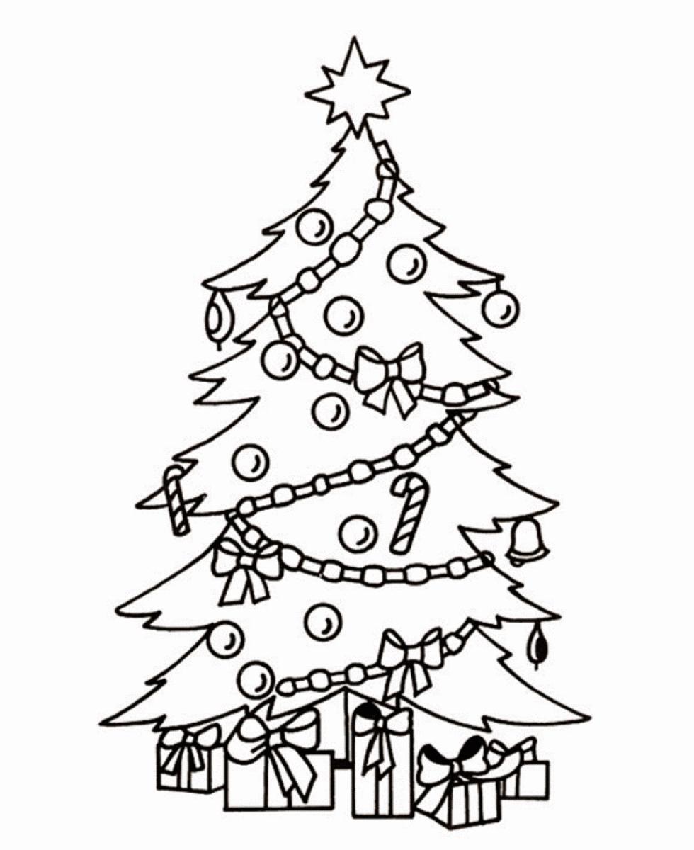 Рисунок новогоднюю елку