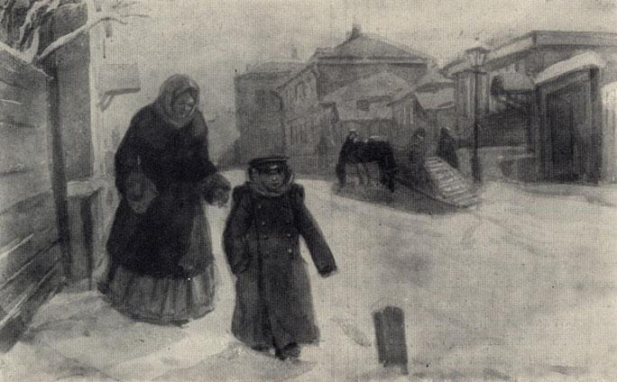 иллюстрации к рассказу гриша чехова днем